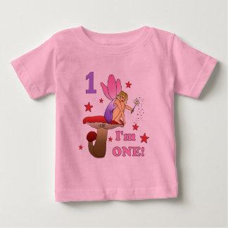 1st Birthday Fairy Baby T-Shirt