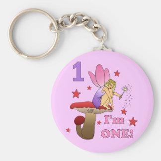 1st Birthday Fairy Keychain