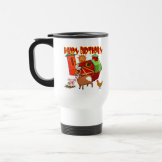 1st Birthday Farm Birthday Travel Mug
