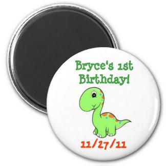 1st birthday favor magnet