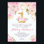 "1ST birthday FIRST Beautiful Floral Invitation, Invitation<br><div class=""desc"">1ST birthday FIRST Beautiful Floral Invitation, </div>"
