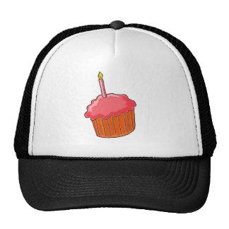 1st Birthday Girl Art Trucker Hat