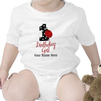 1st Birthday Girl - Lady Bug - 1 - Ladybug Shirt