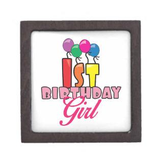 1st Birthday Girl Premium Gift Box