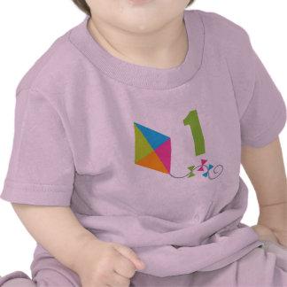 1st Birthday Kite Design Gift Tee Shirt