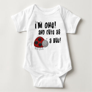 1st Birthday Ladybug Cute As A Bug T-Shirt