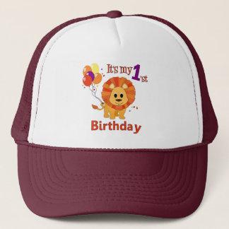 1st Birthday Lion Trucker Hat