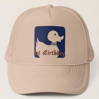 1st Birthday Little Duck Trucker Hat