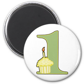 1st Birthday Magnet