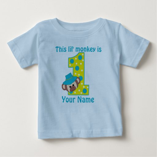 1st Birthday T-shirts. Showing 40 of results that match your query. Search Product Result. Product - Monkey First Birthday Toddler T-Shirt. Product Image. 1st Birthday Boys Teddy Bear Toddler T-Shirt. See Details. Product - 1st Birthday Cowgirl Boots Toddler T-Shirt. Product Image. Price $ Product Title.