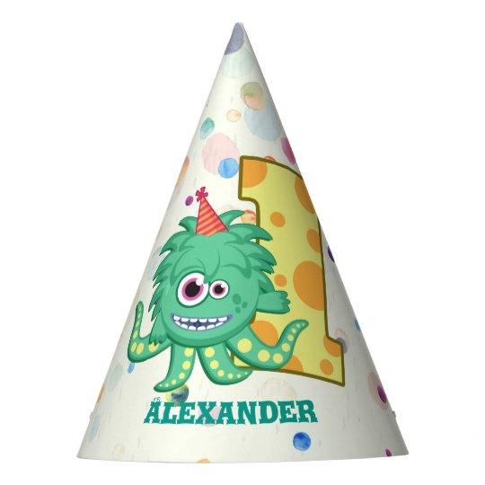 1st Birthday Monster Party Custom Hat