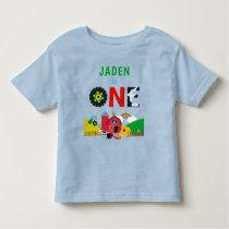 1st Birthday One Year Old Farm Birthday Toddler T-shirt