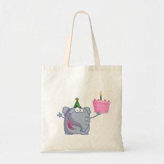 1st Birthday Party Cake Tote Bag