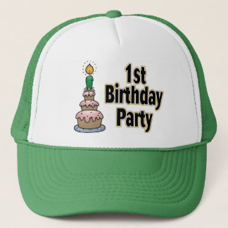 1st birthday party hat