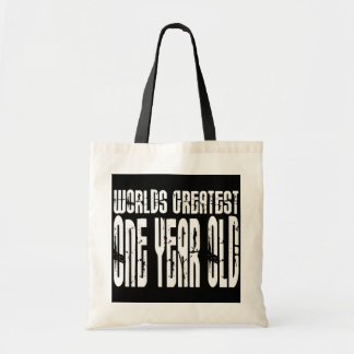 1st Birthday Party Worlds Greatest One Year Old Tote Bag