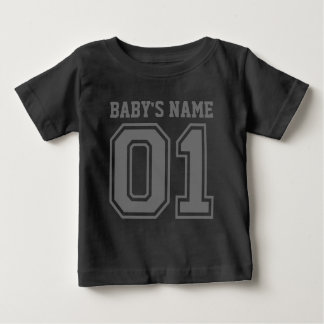 1st Birthday (Personalize Baby's Name) Baby T-Shirt