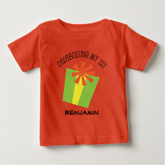 1st Birthday Personalized Gift T-shirt