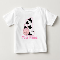 1st Birthday Personalized Little Piggy Shirt