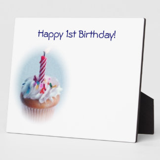 1st Birthday! Plaque