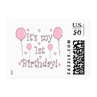 1st Birthday Postage