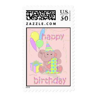 1st Birthday Postage for Girls
