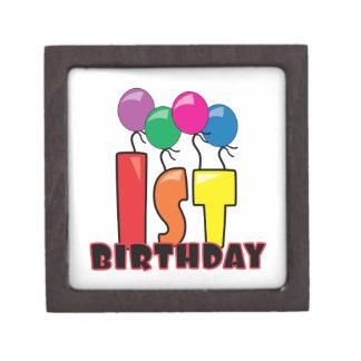 1st Birthday Premium Keepsake Box