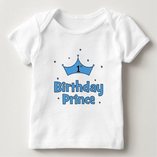 1st Birthday Prince Baby T-Shirt