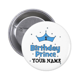 1st Birthday Prince Button