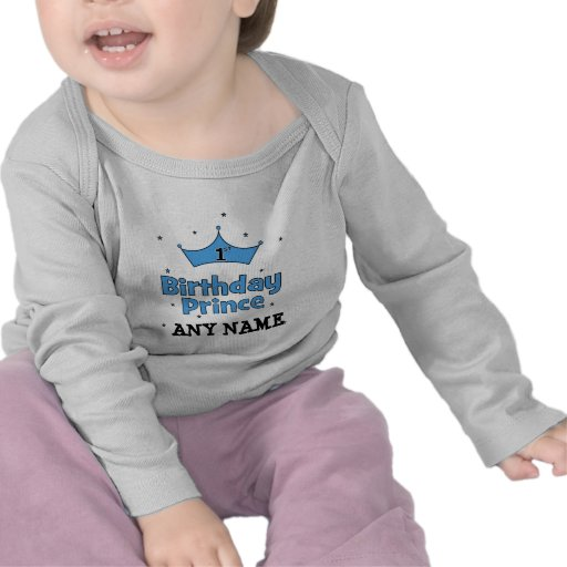 1st Birthday Prince Shirts