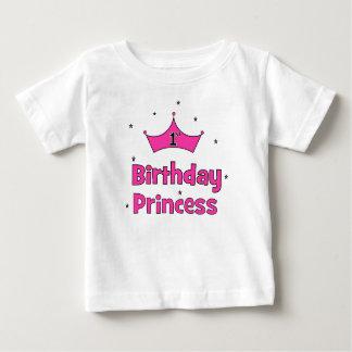 1st Birthday Princess Baby T-Shirt
