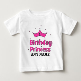 1st Birthday Princess!  with pink crown Shirts