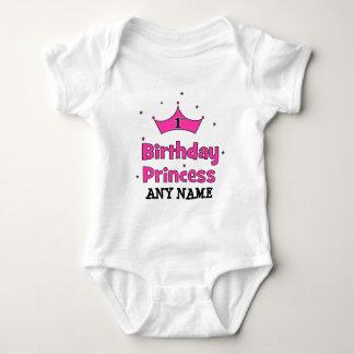 1st Birthday Princess!  with pink crown Tshirt