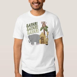 1st Birthday Safari T-shirt