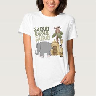 1st Birthday Safari T Shirt