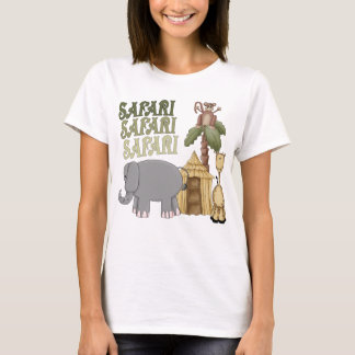 1st Birthday Safari T-Shirt