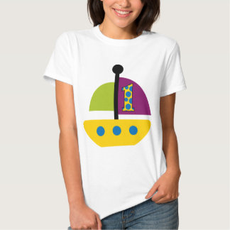 1st Birthday Sailboat T Shirt