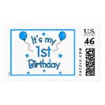 1st Birthday Stamps