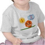 1st Birthday T Shirts for Boys with Cute Lion