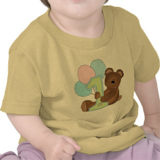 1st Birthday Teddy Bear (3) Tee Shirts