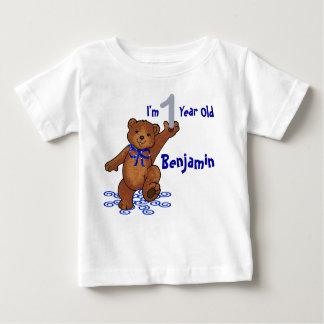 1st Birthday Teddy Bear Tshirts