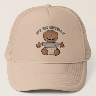 1st Birthday Trucker Hat