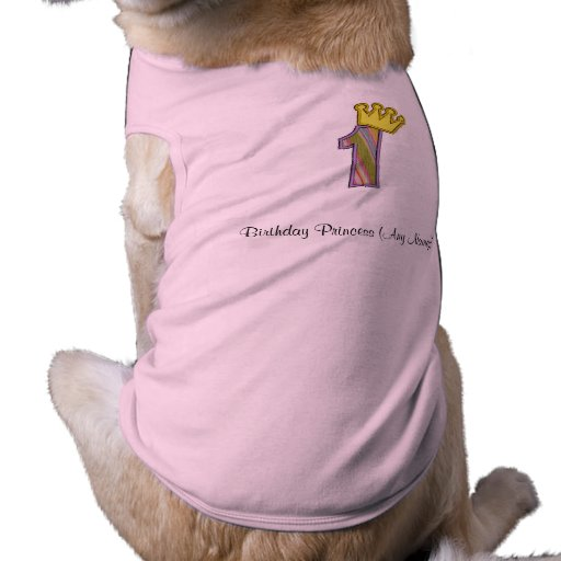 1st Birthday tshirt Pet T Shirt