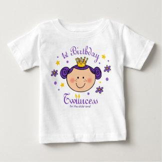 1st Birthday Twincess Personalized Shirt