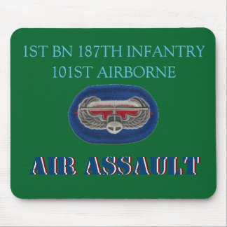 1ST BN 187TH INFANTRY 101ST AIRBORNE MOUSEPAD MOUSE PAD