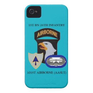 1ST BN 26TH INFANTRY 101ST AIRBORNE iPHONE CASE iPhone 4 Covers