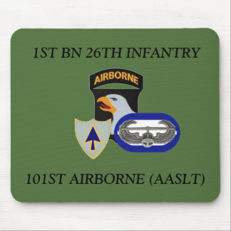 1ST BN 26TH INFANTRY 101ST AIRBORNE MOUSEPAD