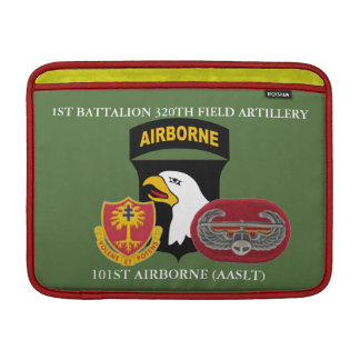 1ST BN 320TH FIELD ARTILLERY 101ST MACBOOK SLEEVE
