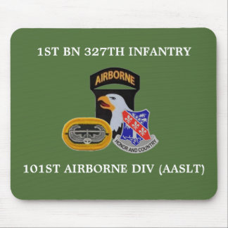 1ST BN 327TH INFANTRY 101ST AIRBORNE MOUSEPAD