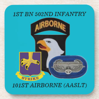 1ST BN 502ND INFANTRY 101ST AIRBORNE COASTERS