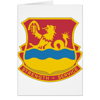 1st BN, 70th Armor Division Greeting Card